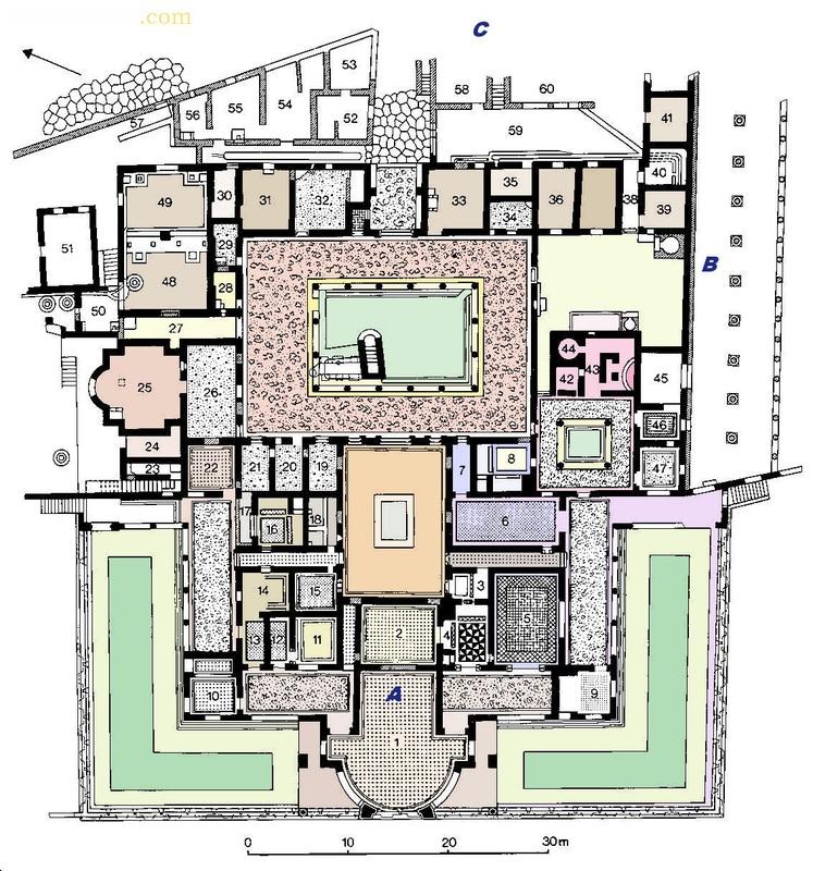 Architettura romana thebookofarchitecture for Grandi planimetrie